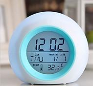 economico -termometro allarme digitale a led a luce incandescente con suono naturale