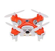 abordables -RC Drone Cheerson CX-10c RTF 4 Canaux 6 Axes 2.4G Avec Caméra HD 0.3MP 480P Quadri rotor RC Vol Rotatif De 360 Degrés / Avec Caméra Quadri rotor RC / Télécommande