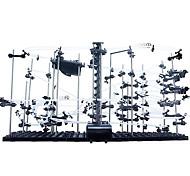 abordables -Spacerail Level 4 26000mm Marble Run Race Construction Set de Circuits à Billes Jouets montagne Russe Kits de Maquette Jouet Vapeur Montagnes russes Interaction parent-enfant Nouveauté créative