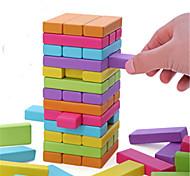 abordables -Jeux de Société Tour à Empiler Jenga Bois Professionnel Amusement Equilibre Enfant Adulte Jouets Cadeaux