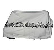 economico -Copribicicletta Per Bicicletta Sintetico Ompermeabile / Antivento / Anti-polvere Ciclismo Grigio