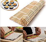 abordables -sushi japonais roulant bambou mat main rouleau bricoleur maker