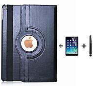 economico -telefono Custodia Per Apple Integrale iPad 4/3/2 iPad (2017) Rotazione a 360° Con supporto Standby automatico / accendimento automatico Tinta unita pelle sintetica