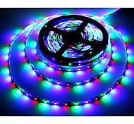 economico -Strisce luminose zdm® 5m rgb 300 led 2835 smd 2835 smd 1pc rgb decorazioni per feste da tagliare 12 v / autoadesive