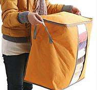 abordables -Textile / Plastique Boîte de Rangement Ovale Avec couvercle Accueil Organisation Espace de rangement 1 pc