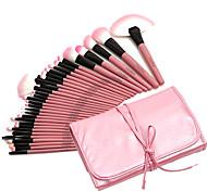 abordables -Professionnel Pinceaux à maquillage ensembles de brosses 32pcs Professionnel Couvrant Poil Synthétique Bois Pinceaux de Maquillage pour Set de Pinceaux de Maquillage