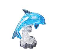 abordables -Dauphin Puzzles 3D Puzzles en bois Puzzles en Cristal Maquettes de Bois ABS Enfant Adulte Jouet Cadeau