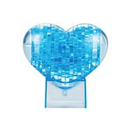 abordables -Cœur Puzzles 3D Puzzles en bois Puzzles en Cristal Maquettes de Bois ABS Enfant Adulte Jouet Cadeau