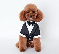 economico -Cane Collana Maglietta Vestiti del cucciolo Formale Vacanze Matrimonio Abbigliamento per cani Vestiti del cucciolo Abiti per cani Costume per ragazza e ragazzo cane Terylene Cotone S M L XL XXL