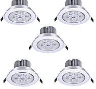 economico -5 pezzi 7 W Faretti LED LED Ceilling Light Recessed Downlight 7 Perline LED LED ad alta intesità Decorativo Bianco caldo Luce fredda 175-265 V
