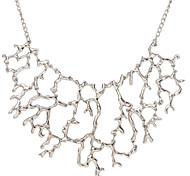 economico -Per donna Perle Collane con ciondolo Collana di dichiarazione Importante Donne Di tendenza Europeo Perla Lega Oro Argento Collana Gioielli Per Feste / Collana di perle