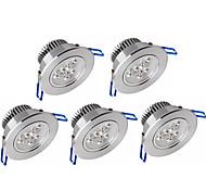 abordables -zdm 5pcs dimmable 3x2w haute puissance led lampe 500-550 lm led plafonniers encastrés retrofit leds chaud blanc froid ac 110v / ac 220v