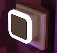 abordables -capteur sans fil led veilleuse eu plug mini veilleuses carrées pour chambre de bébé chambre couloir lampe