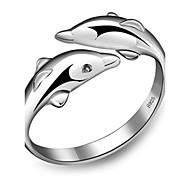economico -Band Ring Argento Argento sterling Argento Amore A buon mercato Donne Stravagante Originale / Per donna