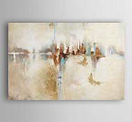 abordables -peinture à l'huile toile tendue moderne abstraite peinte à la main avec cadre tendu