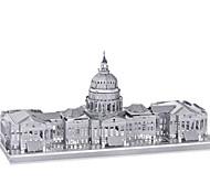 abordables -Puzzles Puzzles 3D Puzzles en Métal Blocs de Construction Jouets DIY  Métal Argenté Maquette & Jeu de Construction