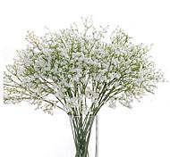 economico -gypsophila fiori artificiali 6 rami matrimonio fiori baby respiro fiore da tavolo 62 cm