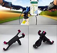 economico -Attacco cellulare per bici Portatile Anti Shake Stabile per Bici da strada Mountain bike ABS iPhone X iPhone XS iPhone XR Ciclismo Nero Rosa 1 pcs