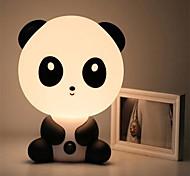 abordables -bébé chambre lampes nuit lumière dessin animé animaux lapin panda pvc en plastique sommeil conduit enfant lampe ampoule veilleuse pour enfants