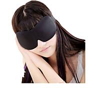abordables -Masque de Sommeil de Voyage 3D Respirabilité Sans couture Repos de Voyage 1 set Voyage Tissu Coton
