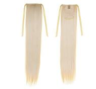 abordables -Cheveux Synthétiques Extension des cheveux Droit Classique Quotidien Haute qualité Queue-de-cheval