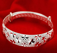 abordables -Bracelet Bracelets Femme Argent sterling dames Asiatique Mode Italien Bracelet Bijoux Argent pour Regalos de Navidad