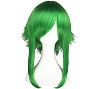 abordables -Vocaloid Gumi Perruques de Cosplay Homme Femme 22 pouce Fibre résistante à la chaleur Perruque Anime
