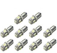economico -Auto LED Luce di svolta BA9S Lampadine 120 lm SMD 5050 1 W 5 Per Universali 10 pezzi