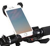economico -Attacco cellulare per bici Regolabile Leggero Giravolta in volo a 360 gradi per Bici da strada Mountain bike BMX ABS PVC iPhone X iPhone XS iPhone XR Ciclismo Nero Nero / Rosso 1 pcs