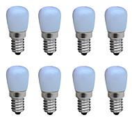 abordables -8 pièces 1 W Ampoules Bougies LED 100-150 lm E14 B 1 Perles LED COB Décorative Blanc Chaud Blanc Froid 220-240 V