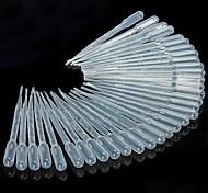abordables -Pipettes 50pcs 3ml compte-gouttes gouttes oeil liquide pasteur pour cuisine de laboratoire