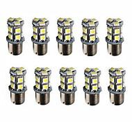 abordables -10pcs BA15S (1156) Automatique Ampoules électriques 3 W SMD 5050 250 lm 13 LED Clignotants For Universel