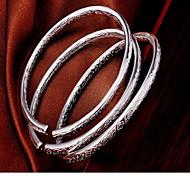 abordables -Bracelet Bracelets Femme Argent sterling dames Mode Bracelet Bijoux Argent pour
