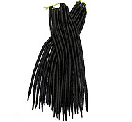 abordables -Dreadlocks Faux Locs Nu Locs Box Braids Cheveux Synthétiques Rajouts de Tresses 24 racines / paquet
