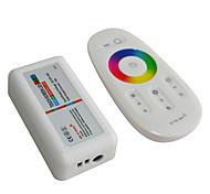 abordables -jiawen 2.4g rgb led contrôleur écran tactile led système de contrôle de bande de lumière (dc 12-24v)