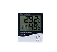 economico -igrometro digitale htc-1 termometro da interno, misuratore di umidità di temperatura accurato per casa, ufficio, serra