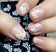 abordables -30 pcs Bijoux pour ongles Manucure Manucure pédicure Adorable Classique Quotidien / Plastique / Bijoux à ongles