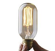 economico -umei ™ 1pc 40w e26 / e27 t45 edsion lampadina bianco caldo 2300 k incandescente vintage edison lampadina ac 110-130 v ac 220-240 v