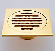abordables -Drainage contemporain Laiton / alliage de zinc 1 pièce - Bain d'hôtel