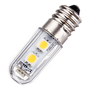 abordables -1pc 1w mini e14 vis base led lampe 7 smd 5050 220 v ac pour réfrigérateur machine four blanc chaud blanc