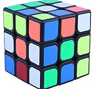 abordables -Ensemble de cubes de vitesse Cube magique Cube QI YONG JUN 3*3*3 Cubes Magiques Casse-tête Cube Niveau professionnel Vitesse Mode d'Emploi Inclus Classique & Intemporel Enfant Jouet Cadeau