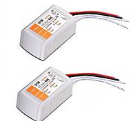 abordables -2pcs ac 110-240v à dc 12v 18w led convertisseur de tension