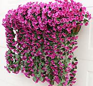 abordables -soie de style moderne mur 2 fleur longueur 85 cm largeur 36 cm