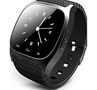 economico -Per uomo Intelligente Guarda Orologio digitale Digitale Digitale Lusso Schermo touch Sveglia Calendario / Gomma