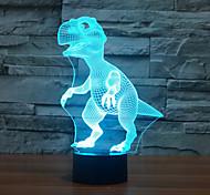 abordables -Veilleuse 3D Décorative Ampoules LED 1 pièce