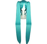 abordables -Perruques de Cosplay Vocaloid Mikuo Manga Déguisement d'Halloween Perruques de Cosplay 304.8 cm CM Fibre résistante à la chaleur Homme / Femme