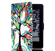 economico -telefono Custodia Per Accendere Amazon Integrale Kindle PaperWhite 2 (2a generazione, versione 2013) Custodie integrali Tinta unita Resistente pelle sintetica