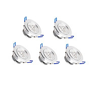 economico -zdm 5pcs dimmerabile 3x2w lampada led ad alta potenza 500-550 lm plafoniere led incasso retrofit led bianco caldo bianco freddo ac 110 v / ac 220 v