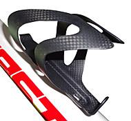 economico -Bicicletta Portaborraccia Fibra di carbonio Portatile Leggero Indossabile Anti-usura Duraturo Per Ciclismo Bici da strada Mountain bike BMX TT Bicicletta a scatto fisso Fibra di carbonio Nero 1 pcs