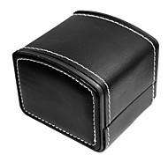 economico -pelle sintetica / vera pelle Cinturino per orologio  Nero 20 cm / 7,9 pollici 2 cm / 0,8 pollici